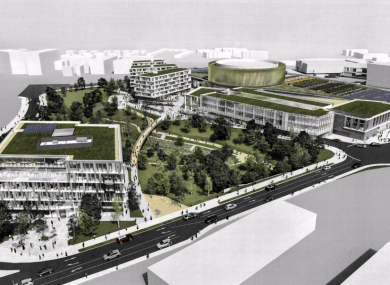 Designs for the development in Carrickmines.