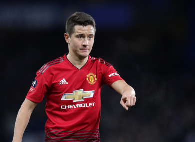 Ander Herrera is moving on after five years with the club.
