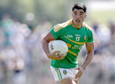 Emlyn Mulligan will play no further part in the 2019 championship for Leitrim.