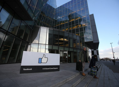 Facebook's headquarters in Dublin.