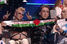 Iceland contestants have Palestine flag banners confiscated at Eurovision venue