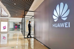 View of a Huawei experience store in Shanghai, China