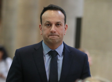 Varadkar issued the apology yesterday.