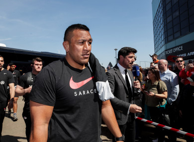 Vunipola is ready to go for Saturday.