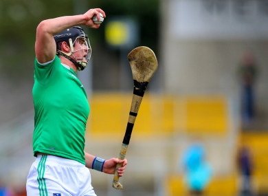 Limerick's Paddy O'Loughlin in league action this year.