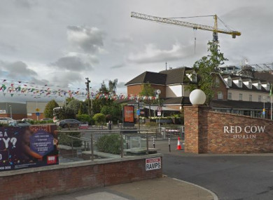 The incident happened at a nightclub at the Red Cow complex