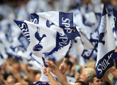 Spurs have clamped down on ticket touts.