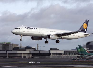 File image of Lufthansa jet.
