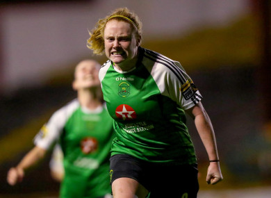 Germany bound: Peamount star Amber Barrett,