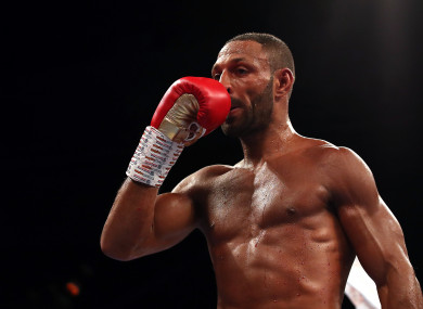 British boxer and former world champion, Kell Brook.
