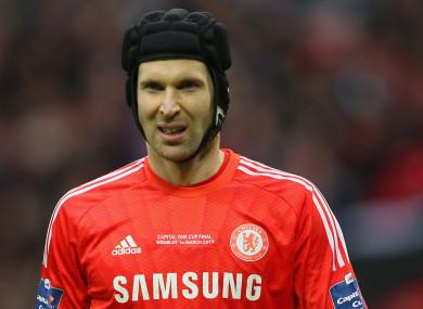 Petr Cech (file pic).