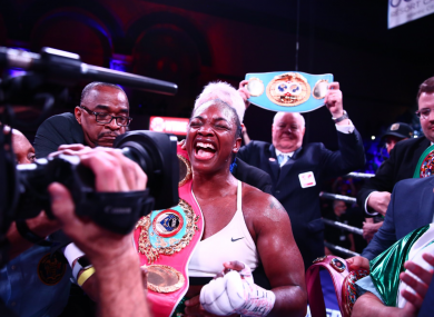 Record-chaser: Claressa Shields.