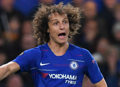 David Luiz (file pic).