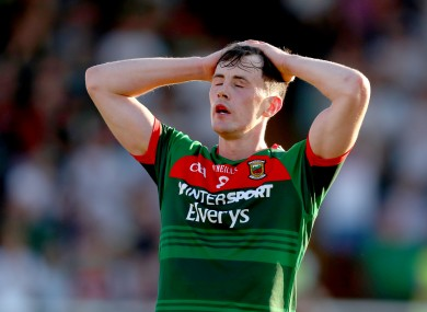 It seems to be a season-ending injury for the Ballintubber man.