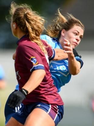 Noelle Healy in action for Dublin.