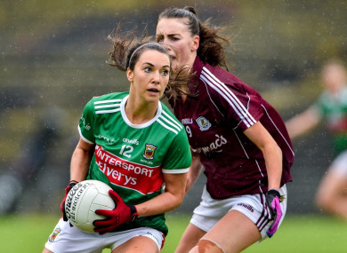 Mayo skipper Niamh Kelly was red-carded during a seismic encounter.