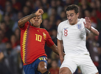 Harry Winks had been left out of Gareth Southgate's final squad for the Nations League.