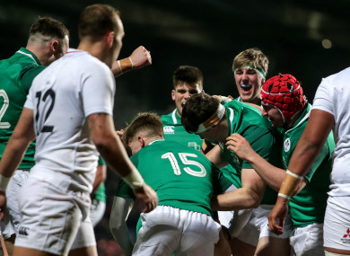 The Ireland U20s are targeting a second win over England after defeating them in the Six Nations earlier this year.