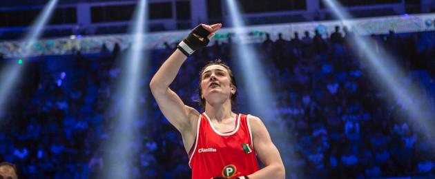Kellie Harrington (file pic).