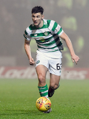 Celtic's Kieran Tierney is being linked with a move to Arsenal.