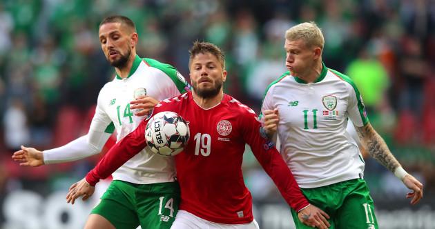 As it happened: Denmark v Ireland, Euro 2020 qualifier