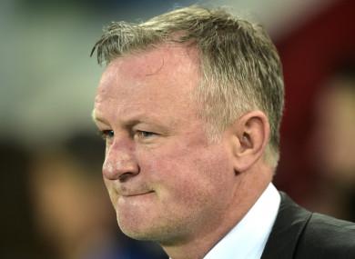 Northern Ireland boss Michael O'Neill.