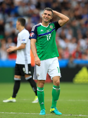 Aaron Hughes featured at Euro 2016.