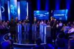 Boris Johnson was represented by an empty podium during the Channel 4 debate.