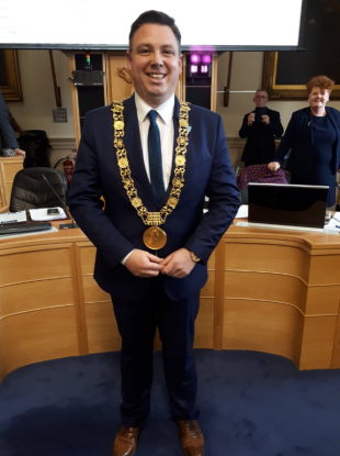 Lord Mayor Paul McAuliffe