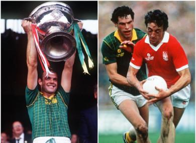 Meath football greats Mick Lyons and Liam Harnan