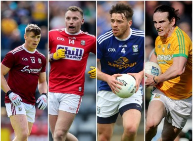 Galway, Cork, Cavan and Meath are all in one bowl.