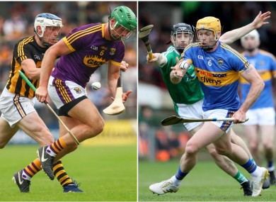 There's big showdowns in store this weekend in Wexford and Limerick.