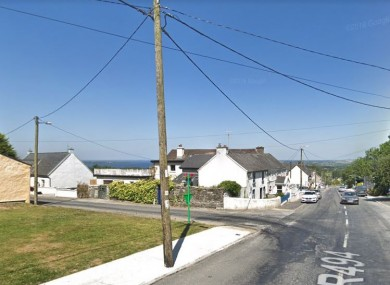 Portroe, Co Tipperary, near where the road collision took place.