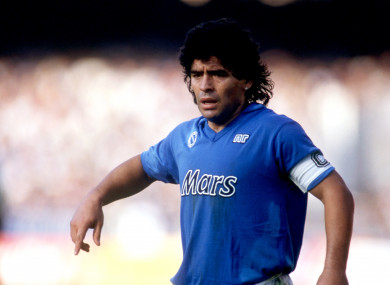 The film focuses primarily on Maradona's spell at Napoli.