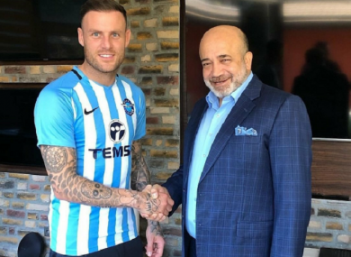 Stokes has signed a two-year deal with the second division side.
