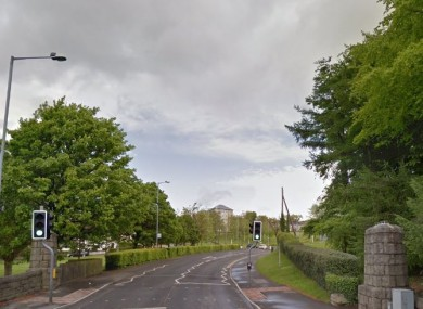 The incident took place on the Cornagrade Road in Enniskillen