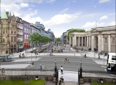The proposed College Green plaza was rejected by An Bord Pleanála last year