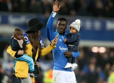 Gueye leaves Everton after three years.