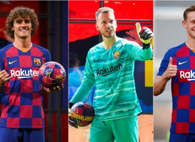 Barcelona have made a couple of high-profile signings this summer.
