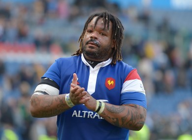 Mathieu Bastareaud (file pic).