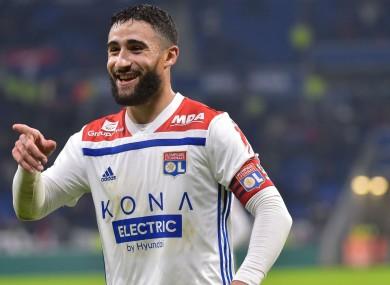 Nabil Fekir; heading for Spain.