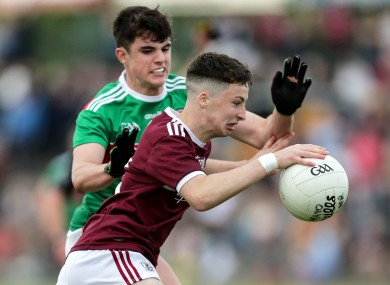 Galway's Nathan Grainger (file pic).
