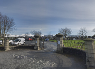 The alleged offences occurred at St Patrick's Cemetery, Dowdallshill, Dundalk.