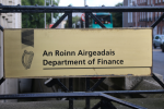 The Department of Finance is one such department.