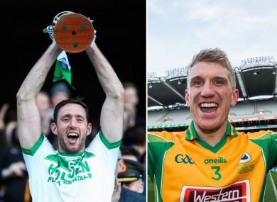 Ballyhale Shamrocks and Corofin celebrated All-Ireland club wins on St Patrick's Day.