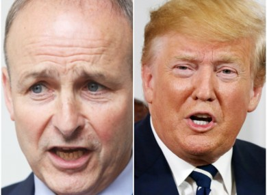 The Fianna Fáil leader says Trump's recent comments against some US congresswomen are 'outrageous'.