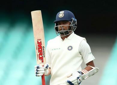 India opener Prithvi Shaw.