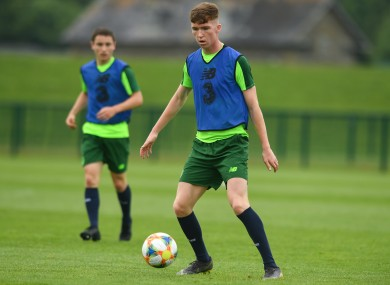 Conor Grant is set to represent Ireland at the U19 Euros.