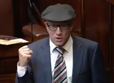 Kerry TD Michael Healy Rae was one of a few TDs to round on the government over the Mercosur trade deal.