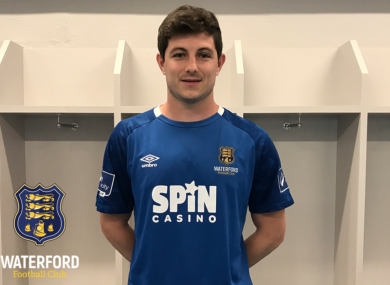 Waterford FC have announced the signing of John Kavanagh.